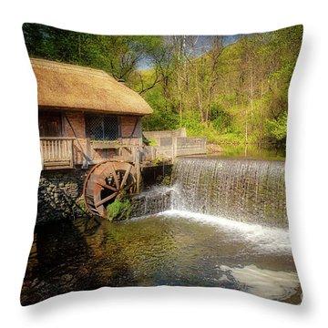 Gomez Mill House Throw Pillow