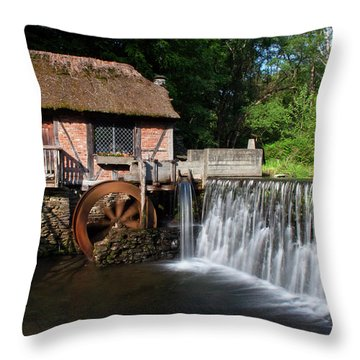 Gomez Mill In Spring #1 Throw Pillow by Jeff Severson