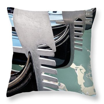 Gondola In Line Throw Pillow by Heiko Koehrer-Wagner