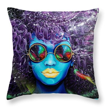 Feather Stars Throw Pillows