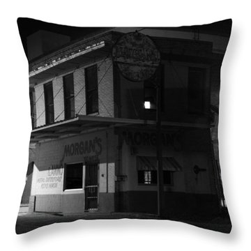 Gone For The Night Throw Pillow