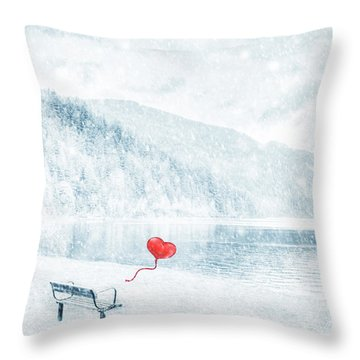 Gone Throw Pillow by Iryna Goodall