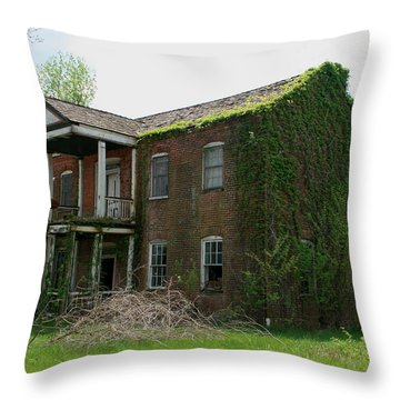 Gone Now Throw Pillow by David Dunham