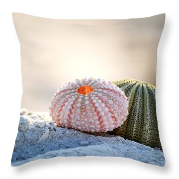Gone Shelling Throw Pillow