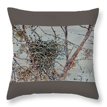 Gone South Throw Pillow