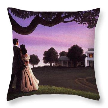 Mansion Throw Pillows