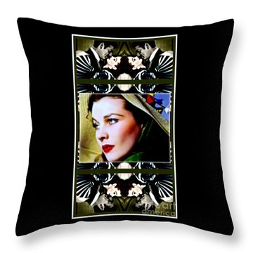 Gone With The Wind Throw Pillow by Wbk