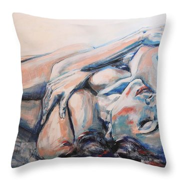 Gonna Make Me Lonesome When You Go Throw Pillow