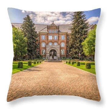 Gonzaga University II Throw Pillow