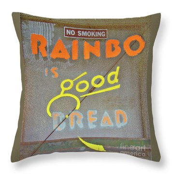 Throw Pillow featuring the photograph Good Bread by Joe Jake Pratt