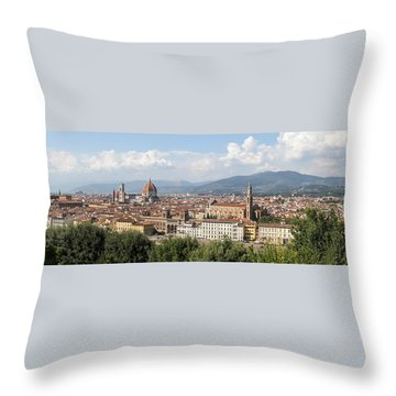 Goodbye To Florence Throw Pillow