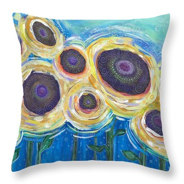 Wild And Free Throw Pillow by Tanielle Childers