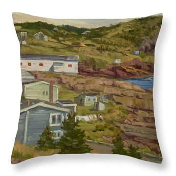 Good Dry Day Throw Pillow