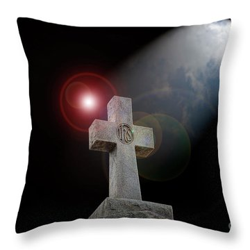 Throw Pillow featuring the photograph Good Friday by Bonnie Barry