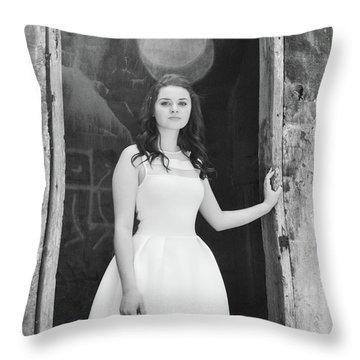 Good Girl Lost Throw Pillow