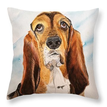 Good Grief 2 Throw Pillow
