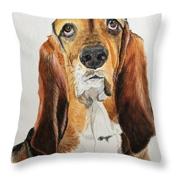 Good Grief Throw Pillow