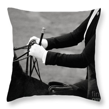 Good Hands Throw Pillow