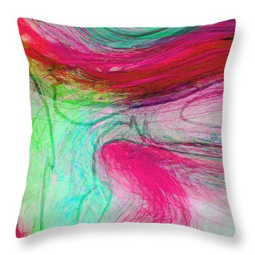 Throw Pillow featuring the photograph Good Is Coming 4 by Kate Word
