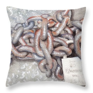 Good Throw Pillow by Ken Powers