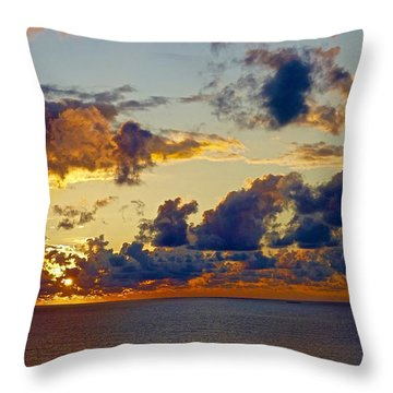 Good Morning Ac Throw Pillow