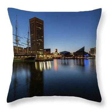 Good Morning Baltimore Throw Pillow