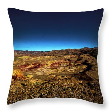 Good Morning From The Oregon Desert Throw Pillow