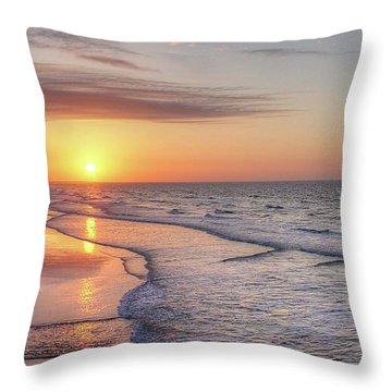 Good Morning Grand Strand Throw Pillow