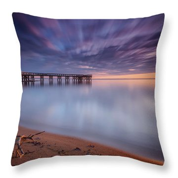good morning Mr. Sun   Throw Pillow