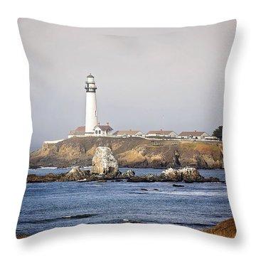 Good Morning Pigeon Point Throw Pillow
