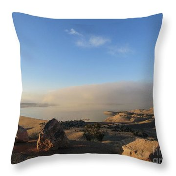 Good Morning Pueblo Throw Pillow