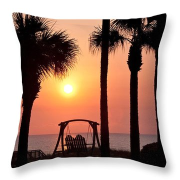 Good Morning Throw Pillow by Steven Sparks
