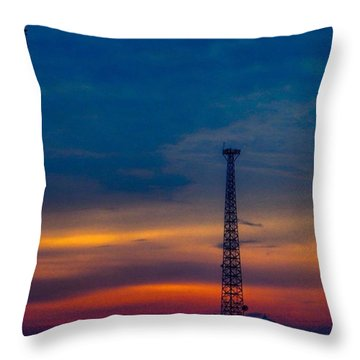 Good #morning #texas #skyporn. Hope Throw Pillow