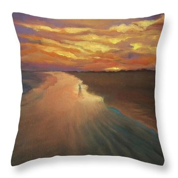 Good Night Throw Pillow