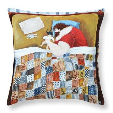 Father Throw Pillows