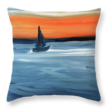 Good Night Star Light Throw Pillow