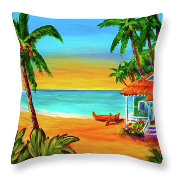 Good Old Days #400 Throw Pillow by Donald k Hall
