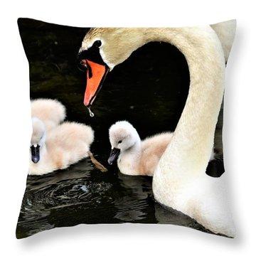 Good Parenting Throw Pillow