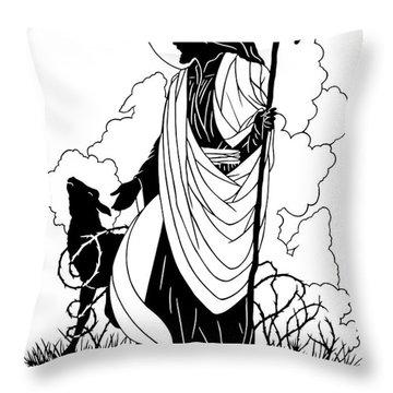 Good Shepherd - Dpgsh Throw Pillow