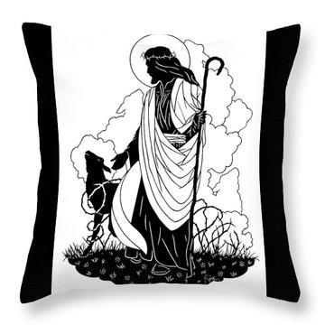 Good Shepherd - Dpgsh Throw Pillow