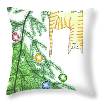Climb Throw Pillows
