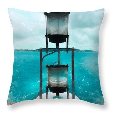 Goodbye To Bermuda Throw Pillow