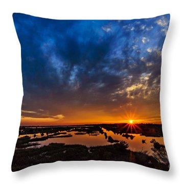 Goodnight Topsail Throw Pillow