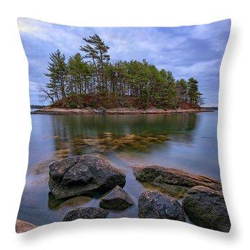 Googins Island Throw Pillow