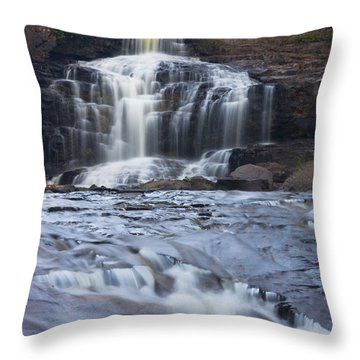 Gooseberry Falls North Shore Minnesota Throw Pillow