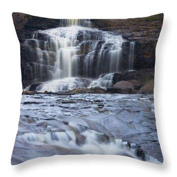 Gooseberry Falls North Shore Minnesota Throw Pillow