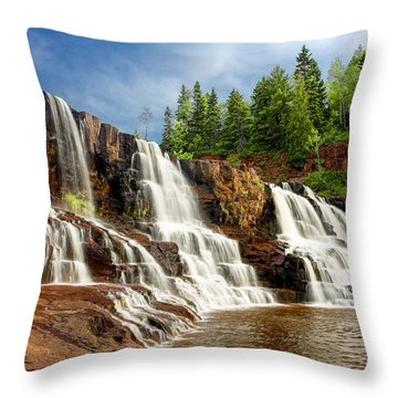 Gooseberry Falls Throw Pillow