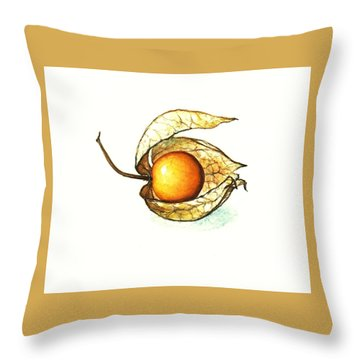 Gooseberry Throw Pillow by Heidi Kriel