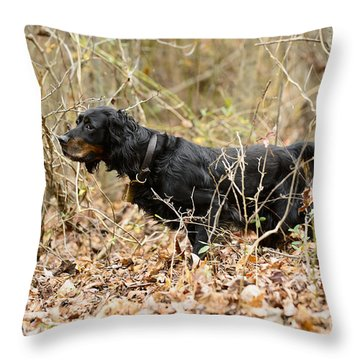 The Complete Peat  Throw Pillow