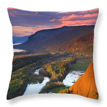 Gorge Glory Throw Pillow